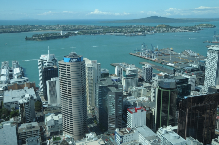 Auckland from Sky Tower