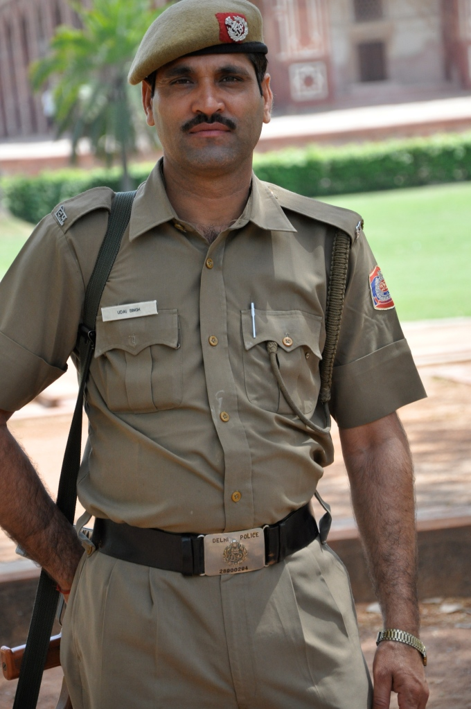 Guard in India